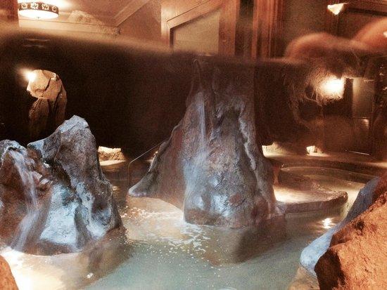 Fox Hotel & Suites: Cave hot tub