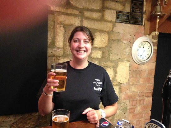 The Plough Inn Restaurant: Service with a Smile!