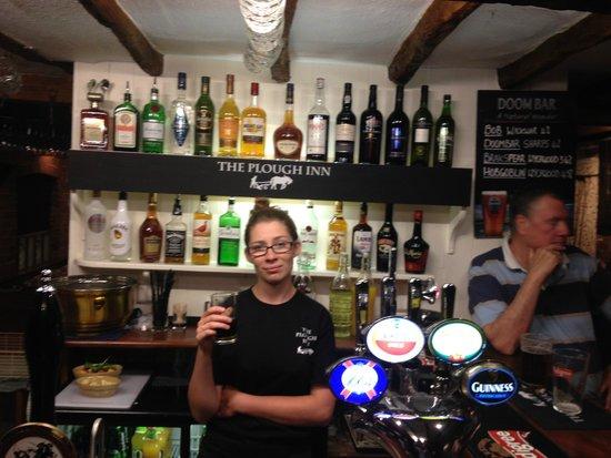 The Plough Inn Restaurant: friendly Staff