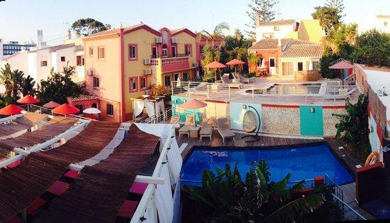 Villas D. Dinis: Vue balcon