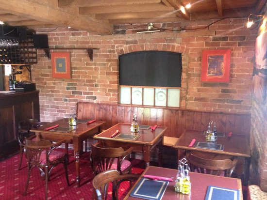 The Plough Inn Restaurant: The Dining Room