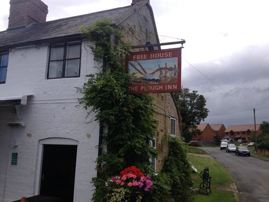 The Plough Inn Restaurant: The Plough Inn sign