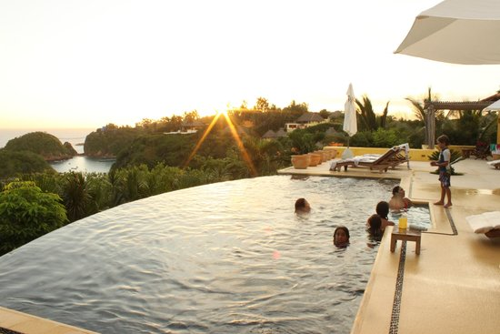 Costa Careyes: Sunset from Casa Aries