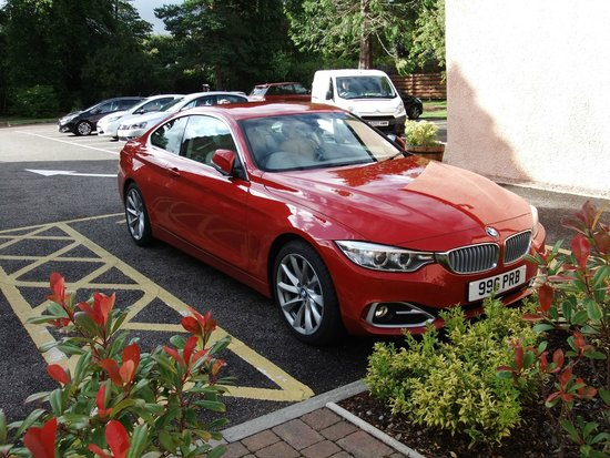 BEST WESTERN PLUS Inverness Lochardil House Hotel: Parking is never an issue - whether you have a Blue Badge, or not.