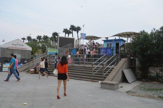 Main Entrance to Jinshan City Beach