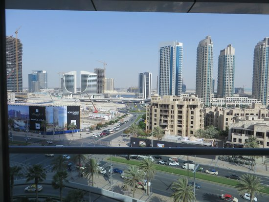 The Address Downtown Dubai: view from our room!