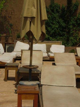 Al Ksar Riad & Spa: toit terrasse