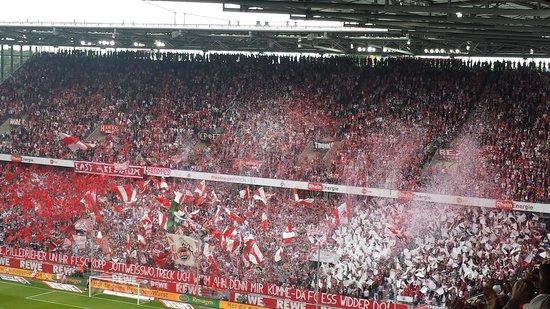 RheinEnergieStadion: Südkurve fanatics