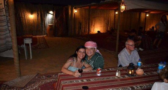 Arabian Adventures: jantar no deserto