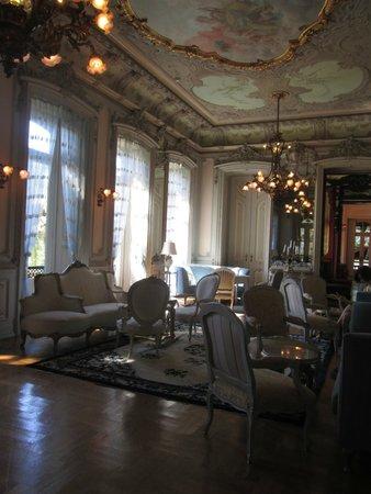 Pestana Palace Lisboa Hotel & National Monument : geand salon
