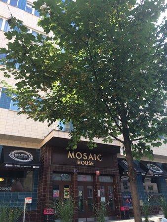 Mosaic House: Exterior