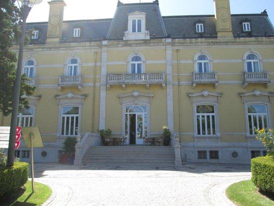 Pestana Palace Lisboa Hotel & National Monument: arrière de l'hotel