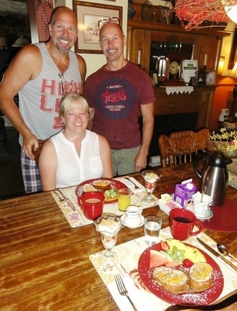 Piney Hill Bed & Breakfast : Gourmet breakfast - unique each day