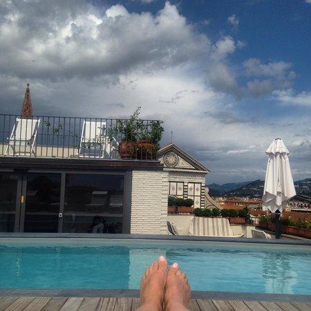 Grand Hotel Minerva: Pool View
