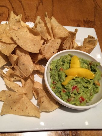The Famished Frog: Guacamole con Mango