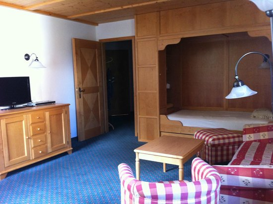 Hotel Die Post: Suite familiare