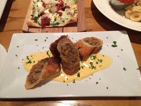 The Famished Frog: Philly Steak eggroll