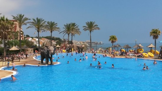 Holiday Village: One of the beach club pools