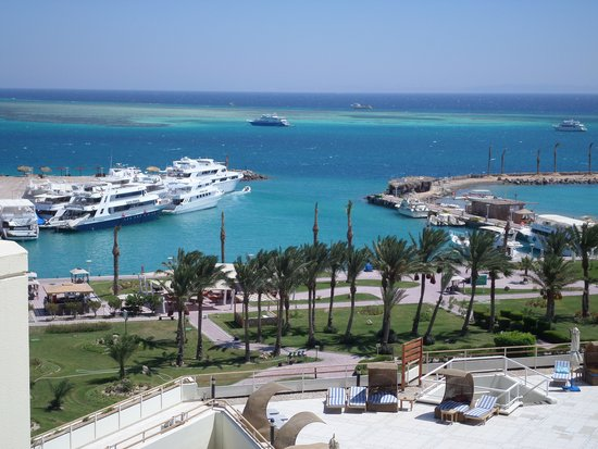 Hilton Hurghada Plaza : Another view from the room