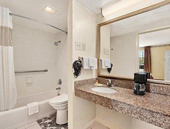 Leesville - Days Inn: ADA Bathroom