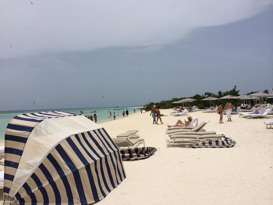 The Ritz-Carlton, Aruba: At the beach