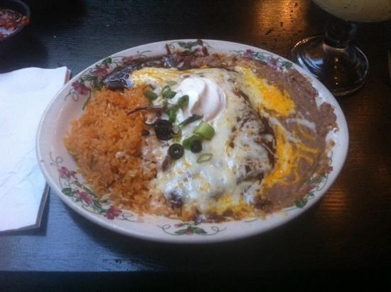 Kingston, WA: Mole Enchilada