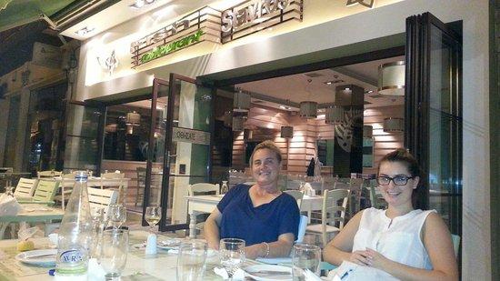 Stavros Fish Restaurant: Stavros keyfi