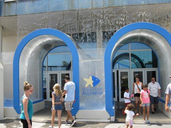 Texas State Aquarium: Entrance