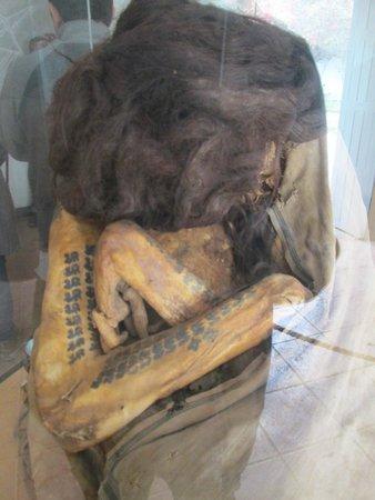 Casa-Museo Marí Reiche: Mumia tatuada