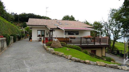 Casa Rural Higeralde : Exterior