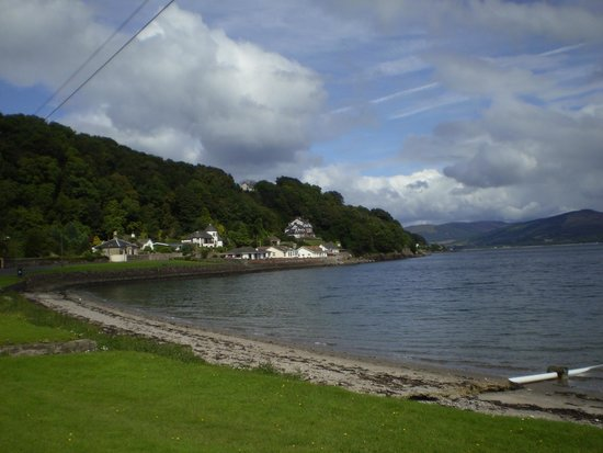 Chandlers Hotel: View from along the Bay