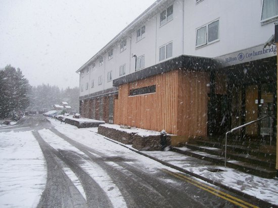 Hilton Coylumbridge Hotel: Hilton in the snow