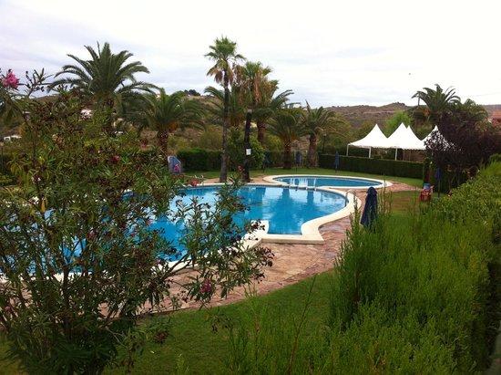 Parque Denia: piscina