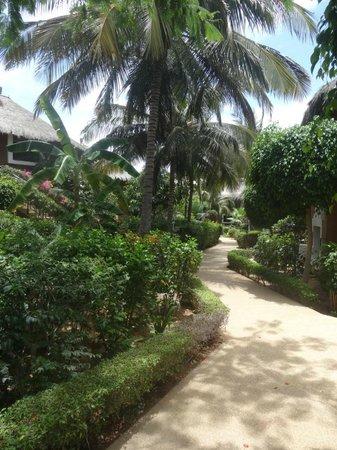 Hotel Neptune : Le parc