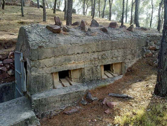 Refugios y Trincheras de la Guerra Civil