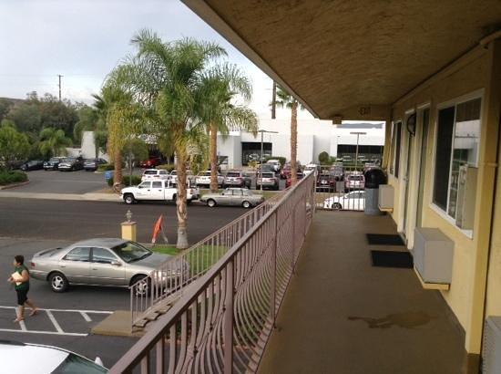 Best Western Poway/San Diego Hotel: poway hotel second floor