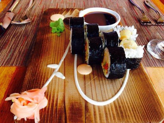 1201 Kitchen: Sushi art
