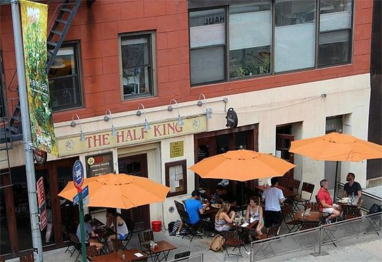 Exterior of the Half King