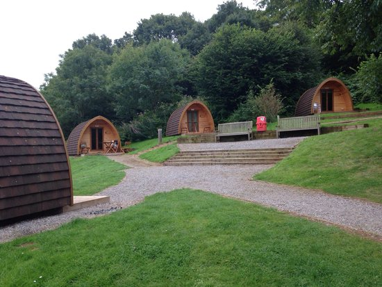 Whitehill Country Park: The pods