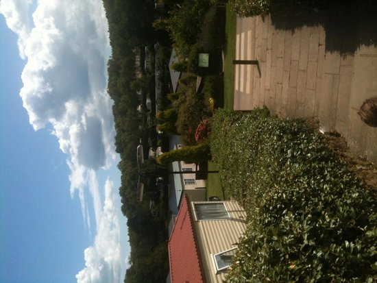 Coghurst Hall Holiday Park - Park Holidays UK: Lovely view from beer garden