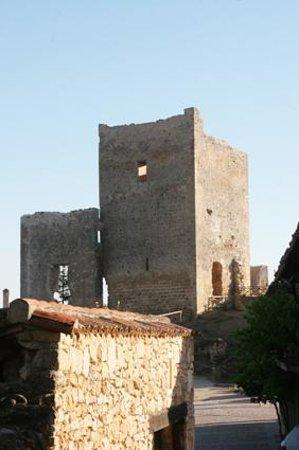 Calatanazor, Spain: Vista del castillo