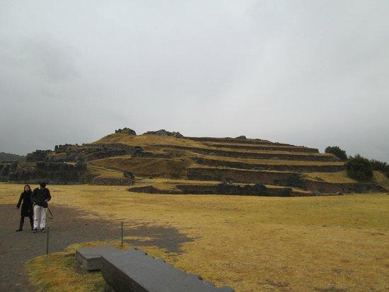 Sacsayhuaman: vista geral