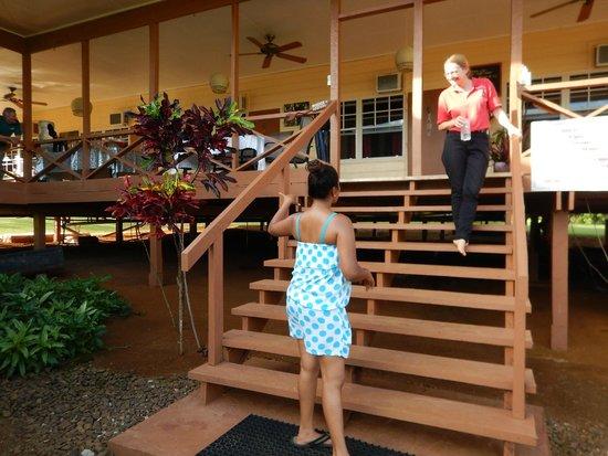 Kabalebo Nature Resort : Our Gracious Host Vivian