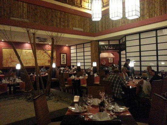 Grand Bahia Principe Tulum : Mikado Restaurant
