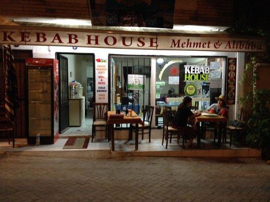 Mehmet and Ali Baba Kebab House : Profiliden gorunus