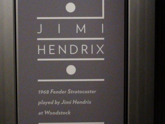 Museum of Pop Culture : Jimi Hendrix