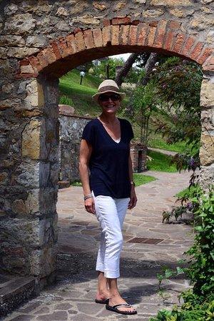 Poderi Val Verde: Our Courtyard