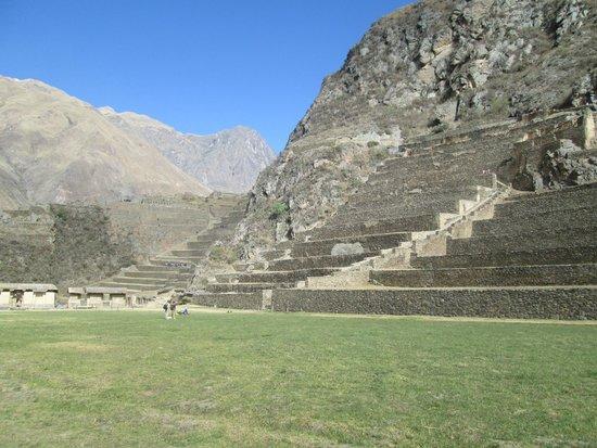Tempel von Ollantaytambo: ruínas