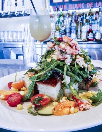 Blue Plate Kitchen: Lobster Panzanella salad