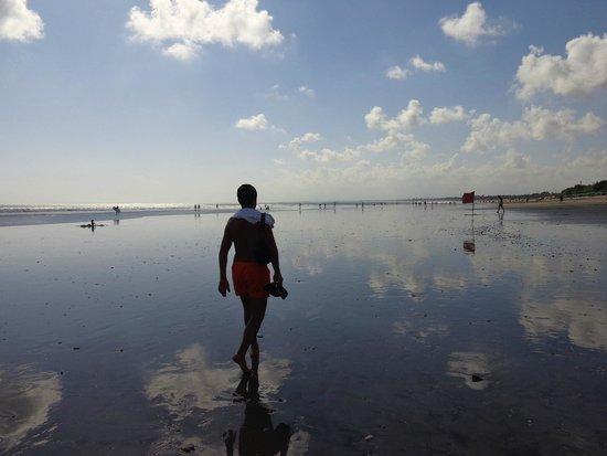 Kuta Beach - Bali: reflexos...